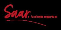 Logo SAAR. Business Organiser